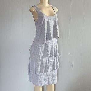 Soft Surroundings Gray Layered Dress